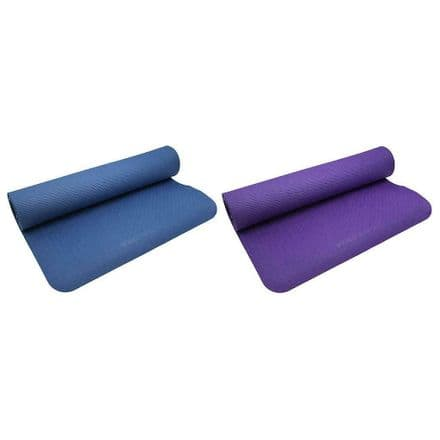 Vector X 4mm TPE Yoga Mat Yoga, Pilates,  Fitness, Gym, Training